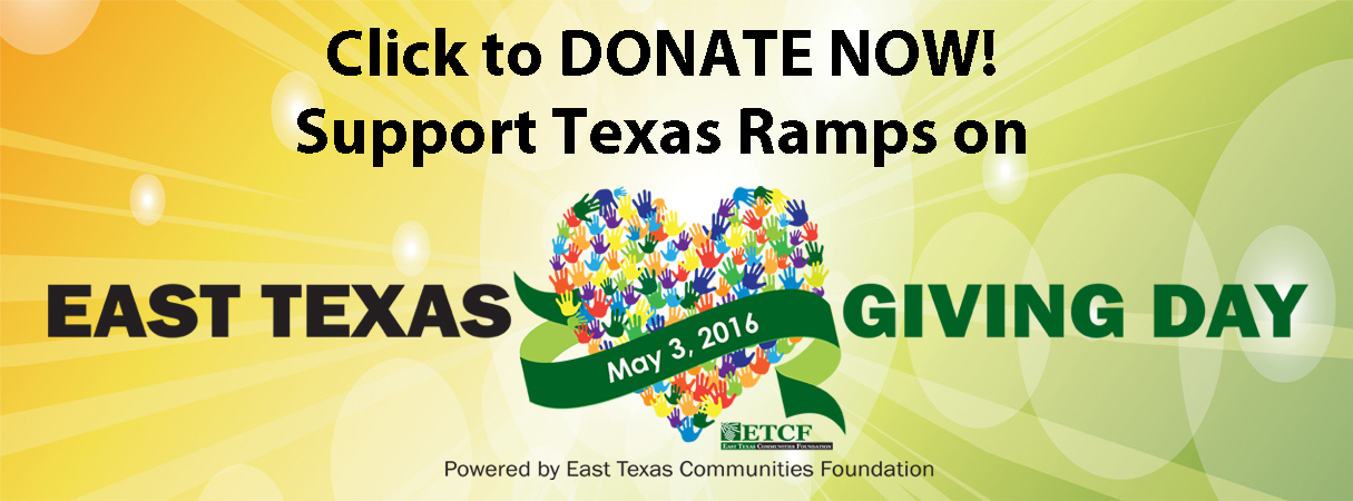 East Texas Giving Day May 3, 2016
