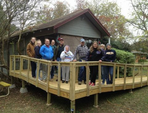 4-H Ramp Build Bryan-College Station
